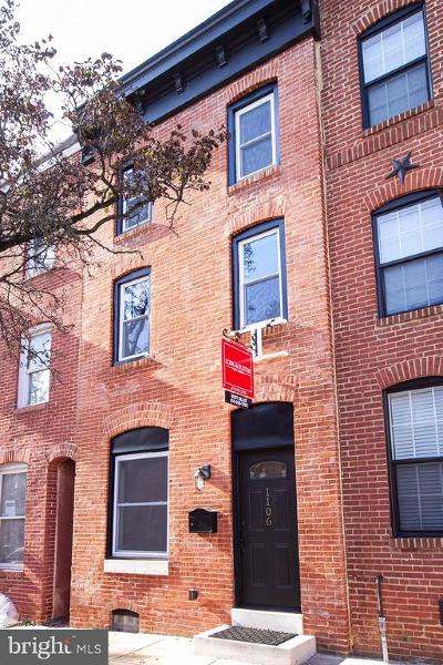 Federal Hill, Federal Hill - Riverside, Federal Hill South Townhouse For Sale: 1106 Battery Avenue