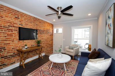 Baltimore City Townhouse For Sale: 743 Harvey Street