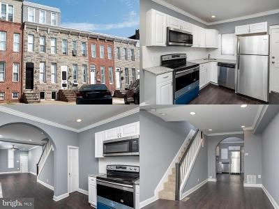 Baltimore City Townhouse For Sale: 1158 Carroll Street