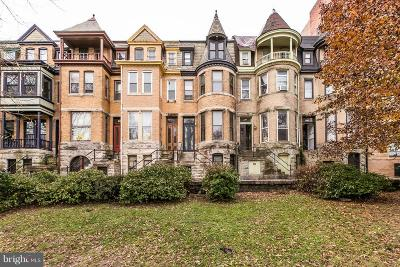 Baltimore Multi Family Home For Sale: 2022 Mount Royal Terrace