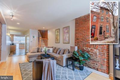 Baltimore City Townhouse For Sale: 1102 S Clinton Street