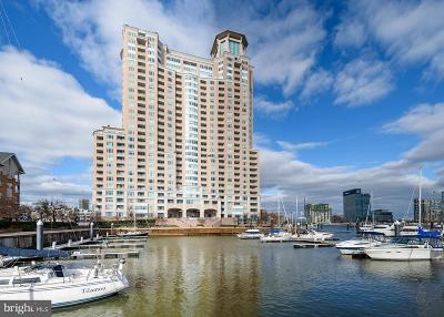 Baltimore Condo For Sale: 100 Harborview Drive #1301