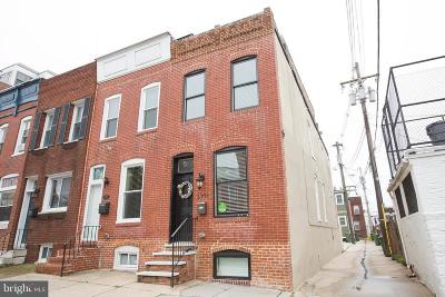 Baltimore MD Townhouse For Sale: $380,000