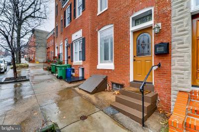 Baltimore City Townhouse For Sale: 231 S Chester Street