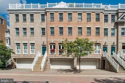 Baltimore Townhouse For Sale: 1237 Harbor Island Walk