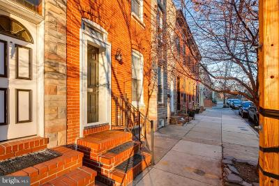 Baltimore City Townhouse For Sale: 214 E Barney Street