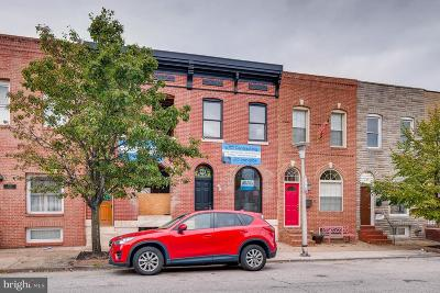 Baltimore City Townhouse For Sale: 330 S East Avenue