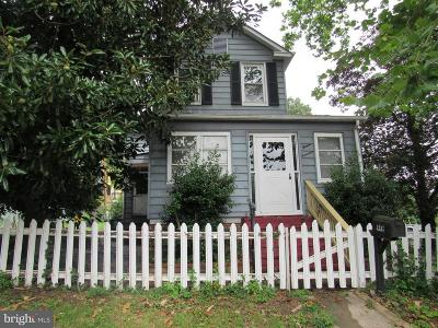 Baltimore City Single Family Home For Sale: 1317 Forest Hill Avenue