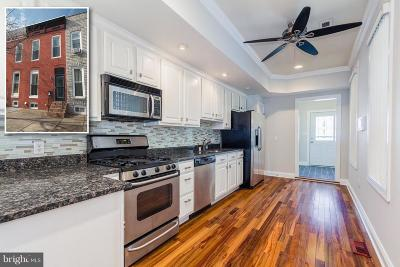 Baltimore City Townhouse For Sale: 220 Chester Street N