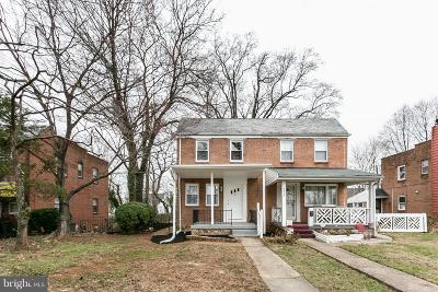Baltimore Single Family Home For Sale: 5615 Highgate Drive