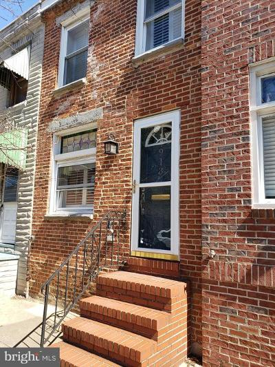 Baltimore City Townhouse For Sale: 913 S Linwood Avenue