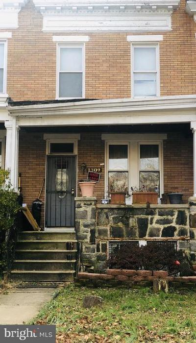 Hampden Townhouse Under Contract: 1309 W 40th Street