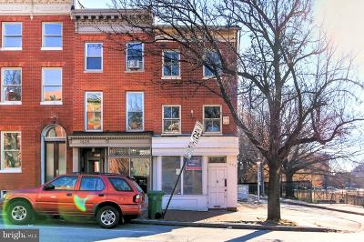 Baltimore City Townhouse For Sale: 1621 E Baltimore Street