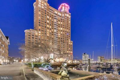 Baltimore City Rental For Rent: 100 Harborview Drive #1901
