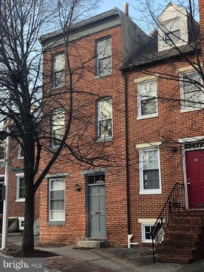 Baltimore Townhouse For Sale: 108 W Montgomery Street