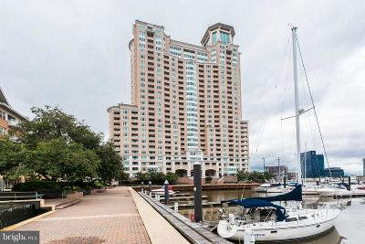 Baltimore Condo For Sale: 100 Harborview Drive #1010