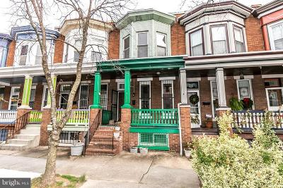 Charles Village Townhouse For Sale: 3133 Abell Avenue