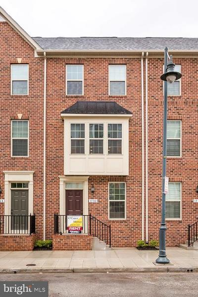 Baltimore City Townhouse For Sale: 1730 E Eager Street