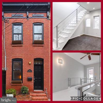 Fells Poi Nt, Fells Point, Fells Point/Hopkins, Fells Pt./Hopkins Townhouse For Sale: 611 S Durham Street