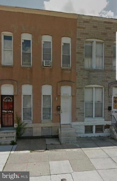 Townhouse Under Contract: 2137 Wilkens Avenue