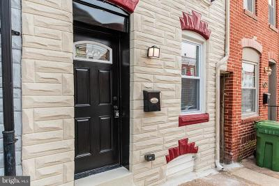 Fells Point Townhouse For Sale: 215 S Castle Street