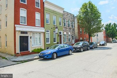 Federal Hill Townhouse For Sale: 307 E Cross Street
