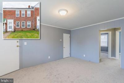 Baltimore City Townhouse For Sale: 1639 E Cold Spring Lane