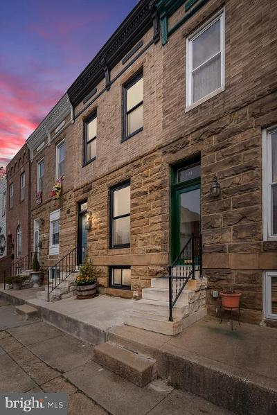 Baltimore Townhouse For Sale: 607 S Clinton Street