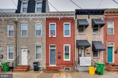 Baltimore Townhouse For Sale: 1409 Olive Street