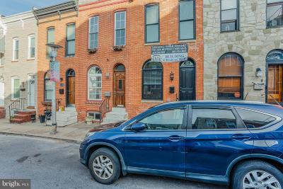 Baltimore Townhouse For Sale: 1439 Henry Street