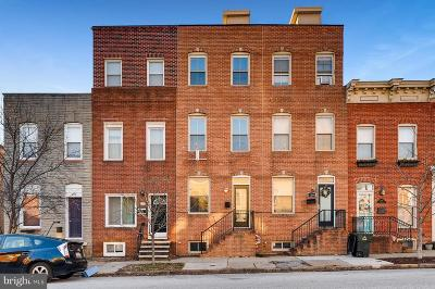 Baltimore City Townhouse For Sale: 1106 S East Avenue