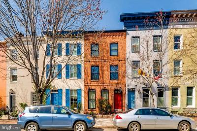 Federal Hill Townhouse For Sale: 218 E Montgomery Street