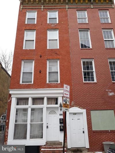Baltimore Multi Family Home For Sale: 112 Clay Street