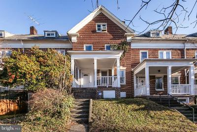 Baltimore Townhouse For Sale: 340 E University Parkway