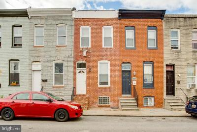 Baltimore City Townhouse For Sale: 124 N Rose Street