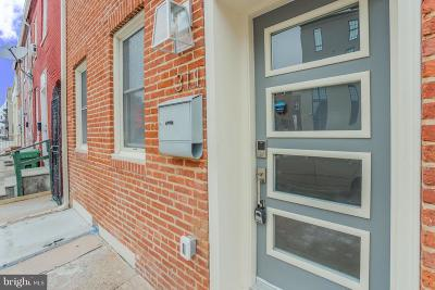 Baltimore City Townhouse For Sale: 311 S Central Avenue