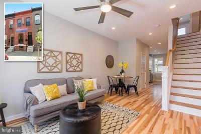 Baltimore Townhouse For Sale: 112 Potomac Street N