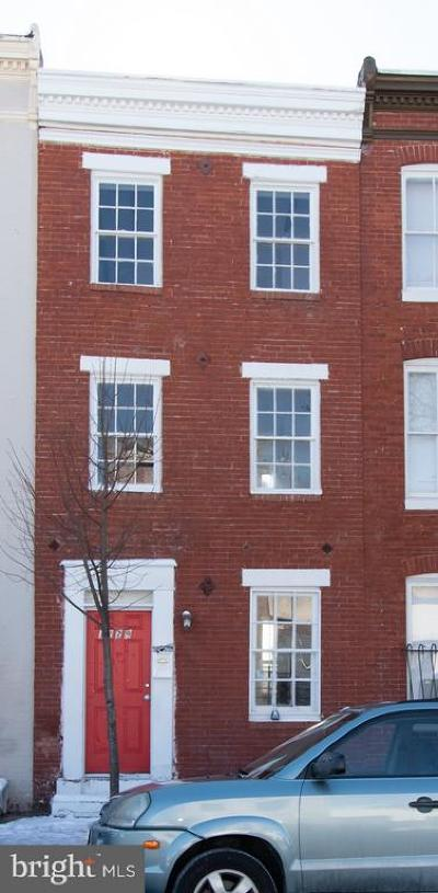 Baltimore Townhouse For Auction: 1229 Hollins Street