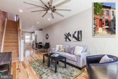 Baltimore Townhouse For Sale: 117 Potomac Street N