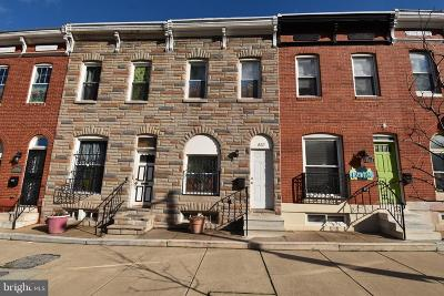 Baltimore Townhouse For Sale: 837 Collington Avenue