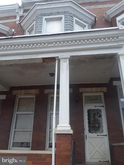 Baltimore Townhouse For Sale: 1816 Ruxton Avenue