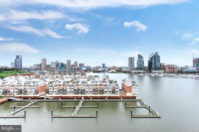 Baltimore City Condo For Sale: 100 Harborview Drive #903