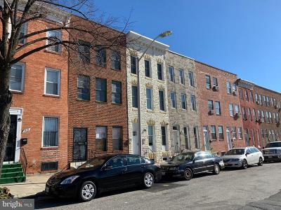 Baltimore City Townhouse For Auction: 1419 N Central Avenue