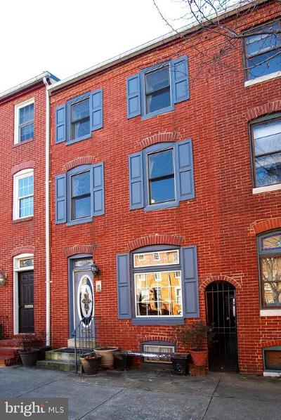 Fells Point Townhouse For Sale: 2013 N Bank Street