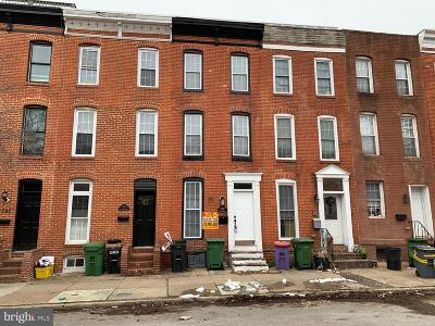South Baltimore Townhouse For Auction: 1738 S Charles Street