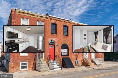 Baltimore City Townhouse For Sale: 806 W Ostend Street