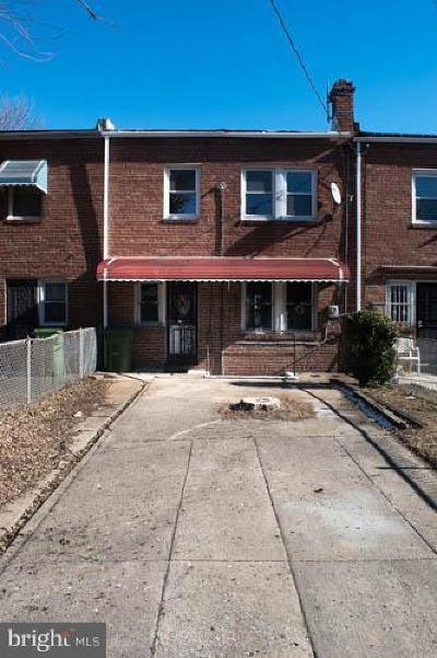 Morrell Park Townhouse For Sale: 910 N Augusta Avenue