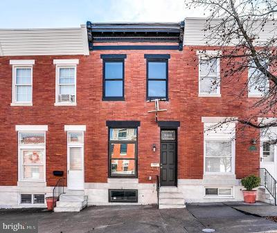 Baltimore City Townhouse For Sale: 3703 Fait Avenue