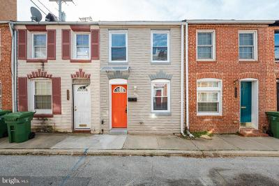 Upper Fells Point Townhouse For Sale: 2025 Portugal Street