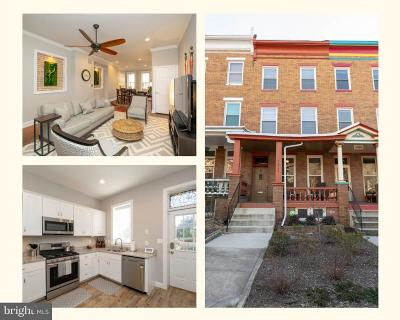 Charles Village Townhouse For Sale: 2611 N Calvert Street